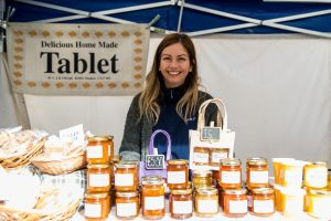 Exhibitors at a Taste Cumbria event